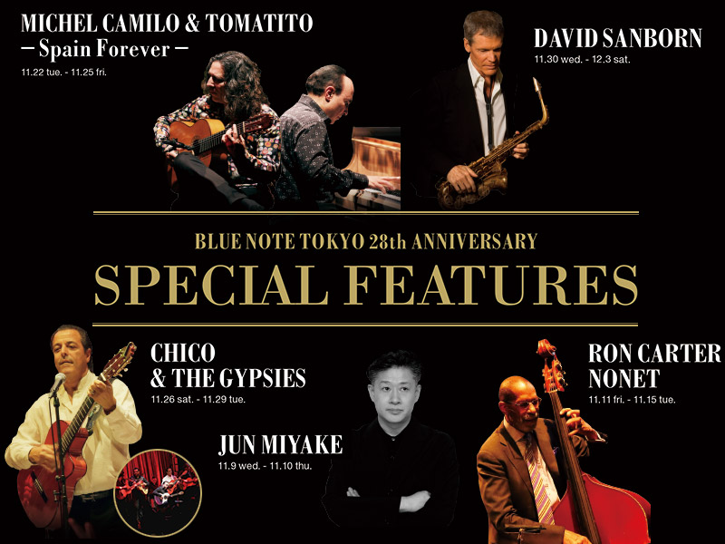 <BLUE NOTE TOKYO 28th ANNIVERSARY> SPECIAL FEATURES
