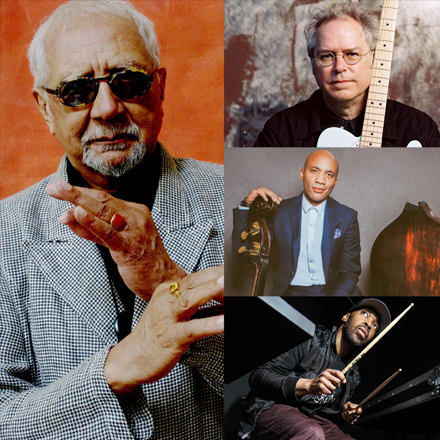 CHARLES LLOYD & THE MARVELS  featuring BILL FRISELL  with REUBEN ROGERS & ERIC HARLAND