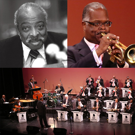 THE LEGENDARY  COUNT BASIE ORCHESTRA  directed by SCOTTY BARNHART
